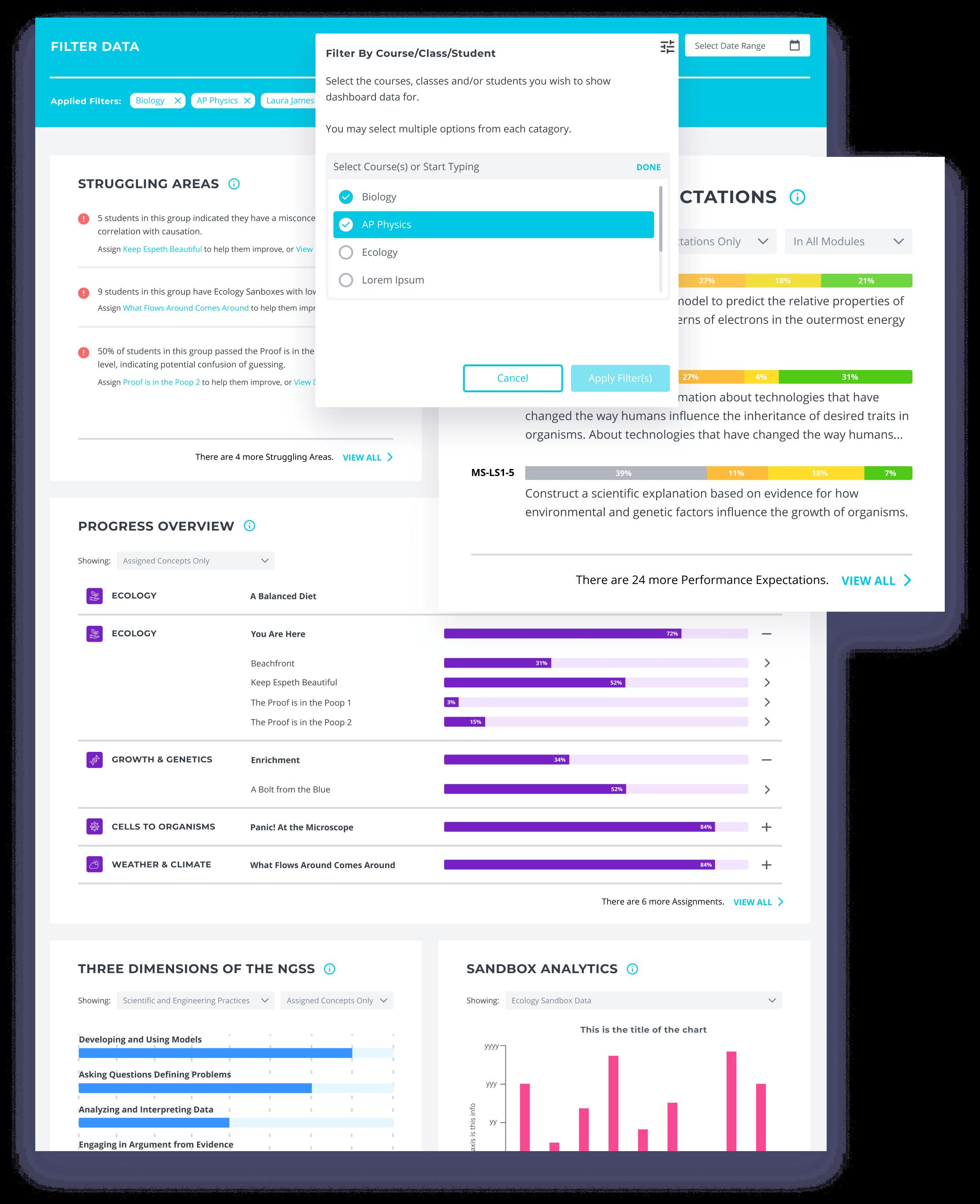 Filter-data